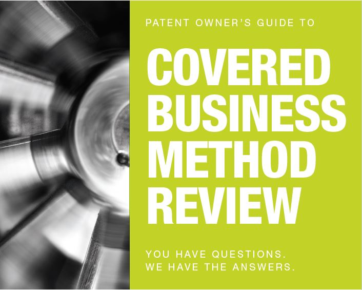 CBM Patent Owner Cover Image